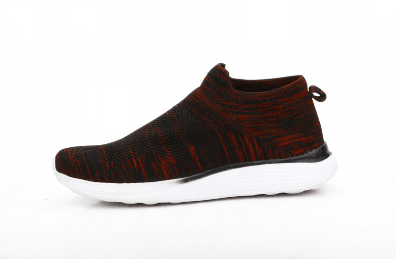 JQR MEN'S SPORTS SHOES in BLACK/RED
